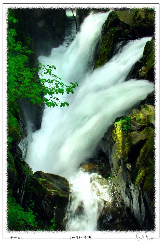 Sol Duc Falls-Olympic Natl Pk, WA