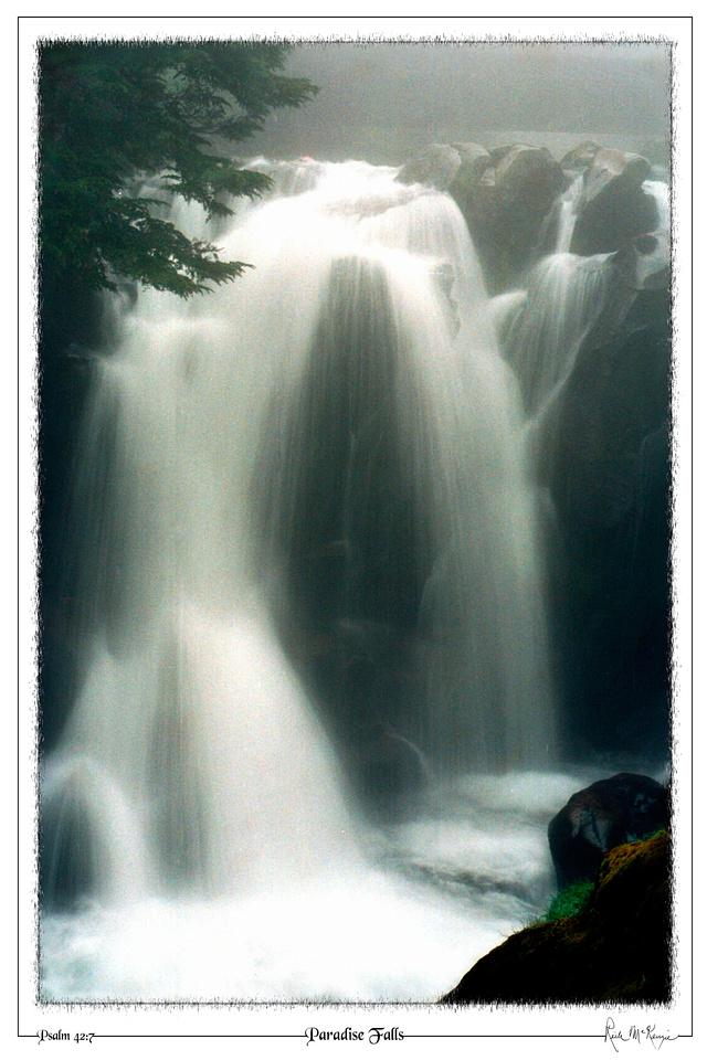 Paradise Falls-Mount Rainier Natl Pk, WA