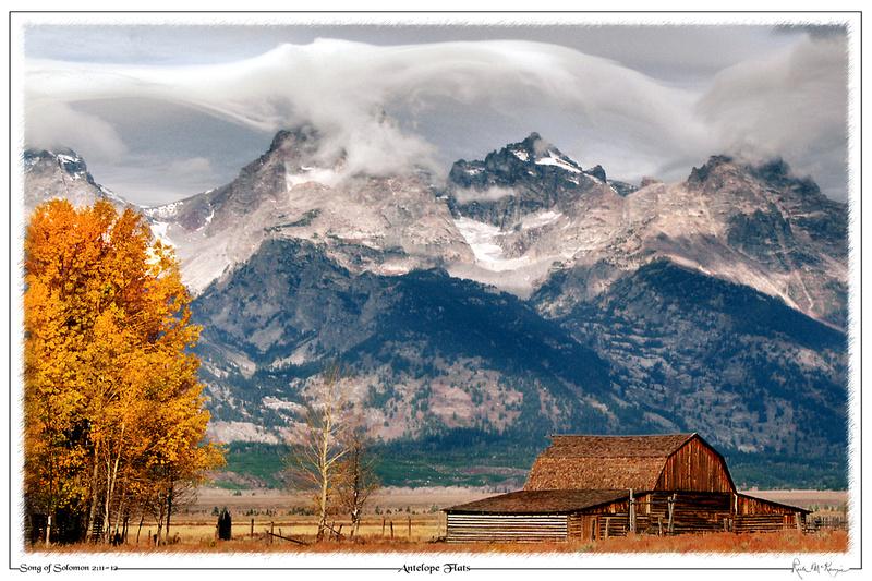 Antelope Flats-Grand Teton Natl Pk, WY