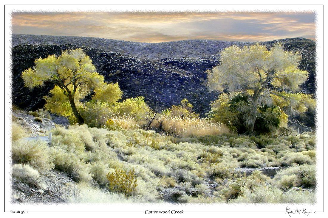 Cottonwood Creek-Death Valley Natl Pk, CA