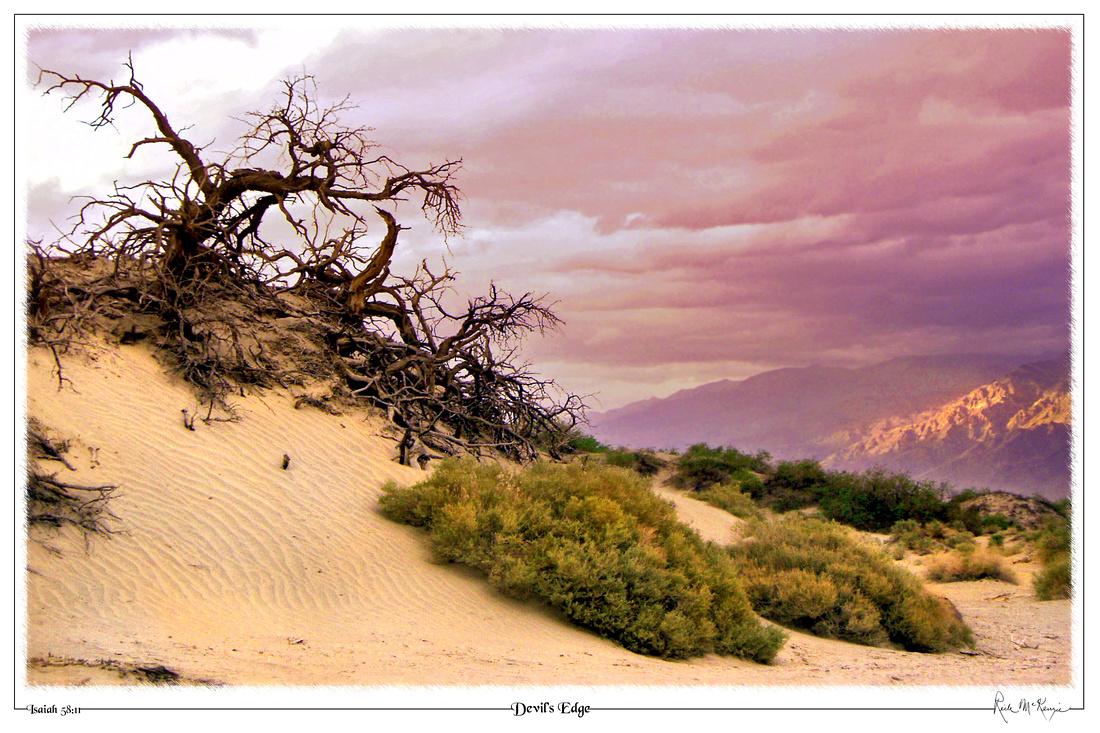 Devil's Edge-Death Valley Natl Pk, CA