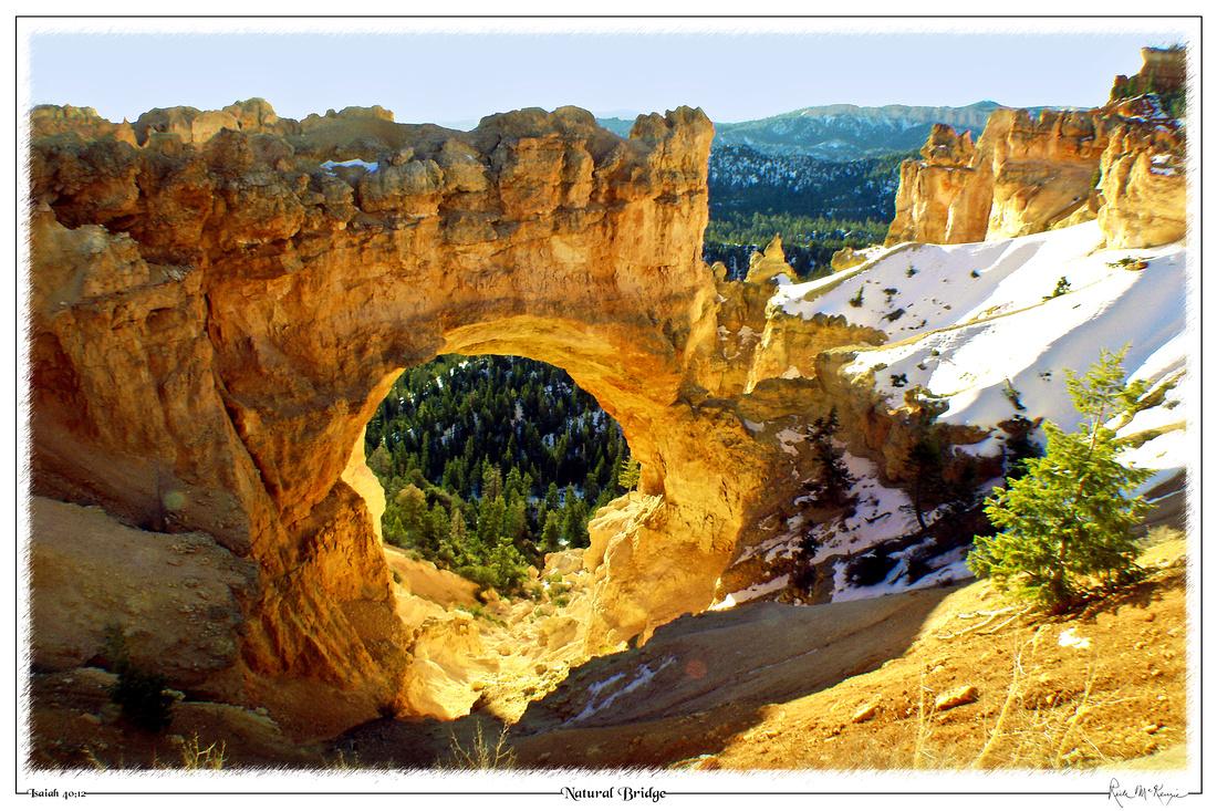 Natural Bridge-Bryce Canyon Natl Pk, UT