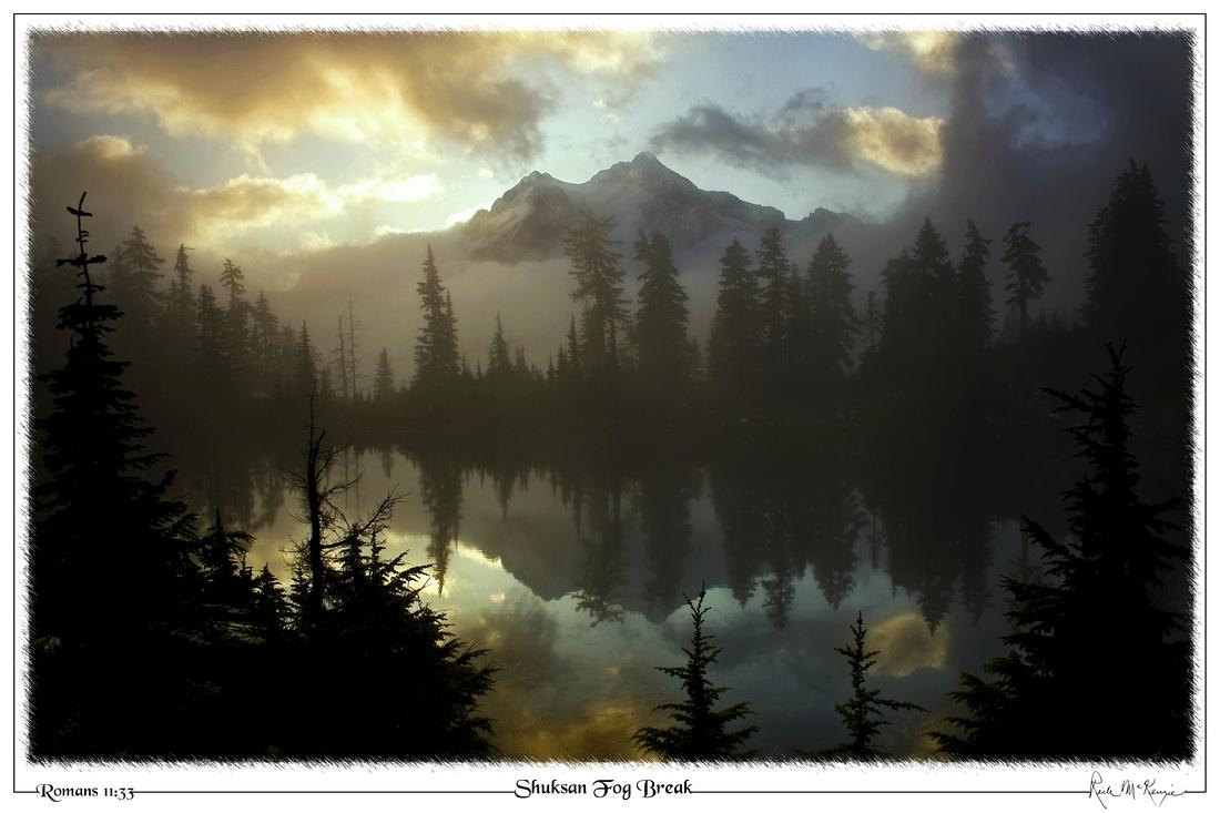 Shuksan Fog Break-Mount Baker, WA