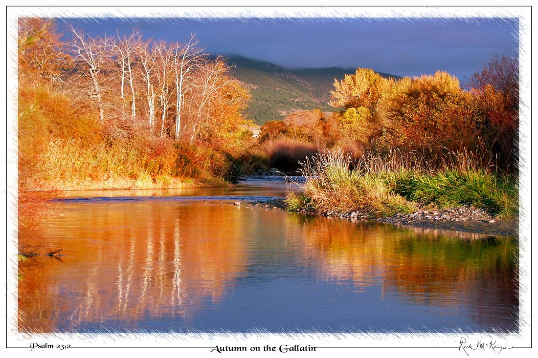 Autumn on the Gallatin-Gallatin River, Bozeman, MT