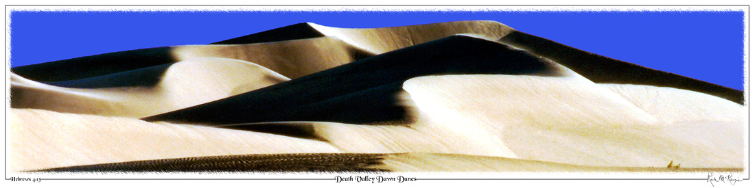 Death Valley Dawn Dunes-Death Valley Natl Pk, CA