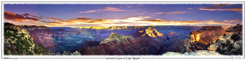 Grand Canyon at Cape Royal-Grand Canyon Natl Pk, AZ