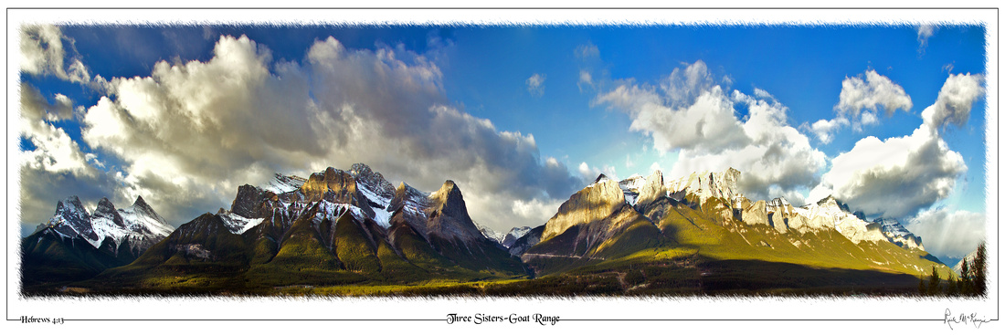 Three Sisters-Goat Range-Canmore, Alberta, CAN