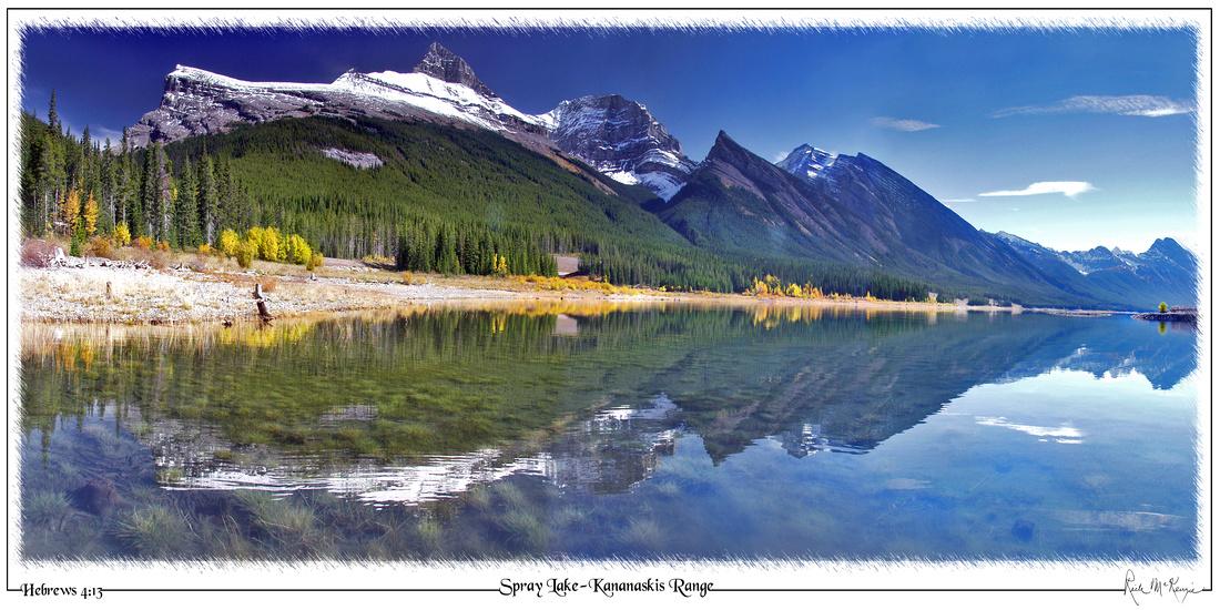Spray Lake-Kananaskis Range, BC, CAN