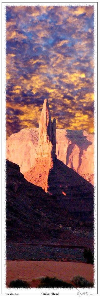 Indian Head-Monument Valley, AZ