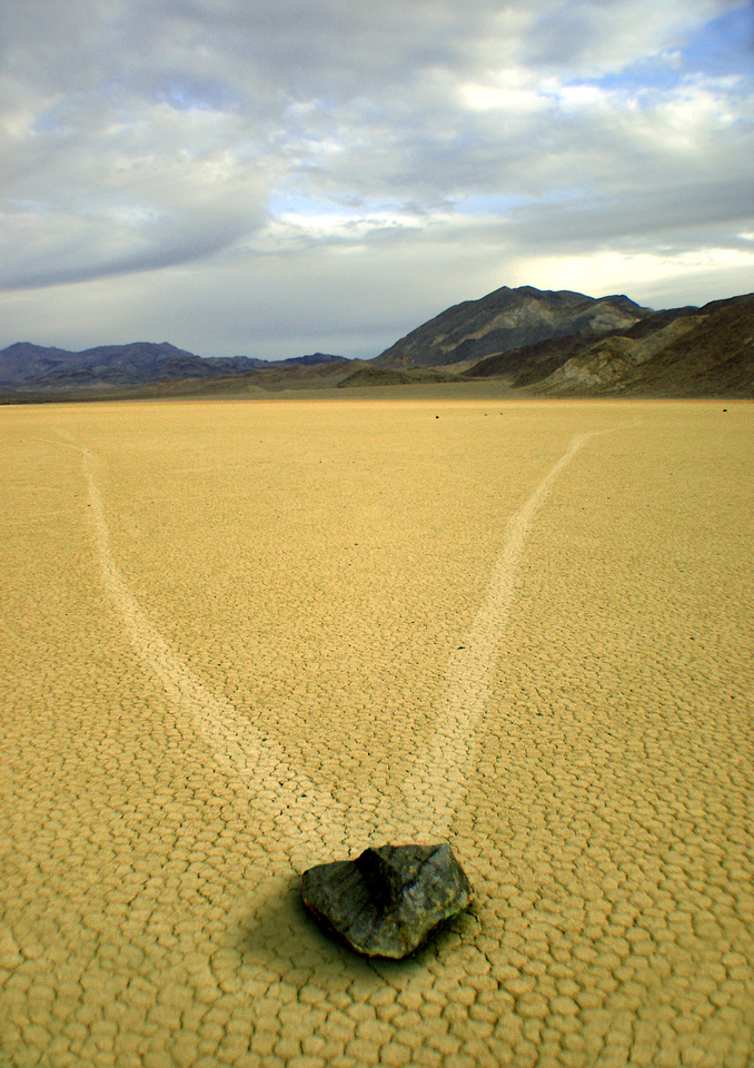 Fork in the Road-Death Valley Natl Pk, CA