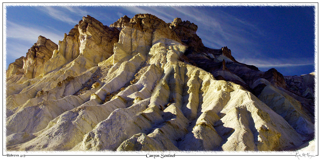 Canyon Sentinel-Artists Palette, Death Valley Natl Pk, CA
