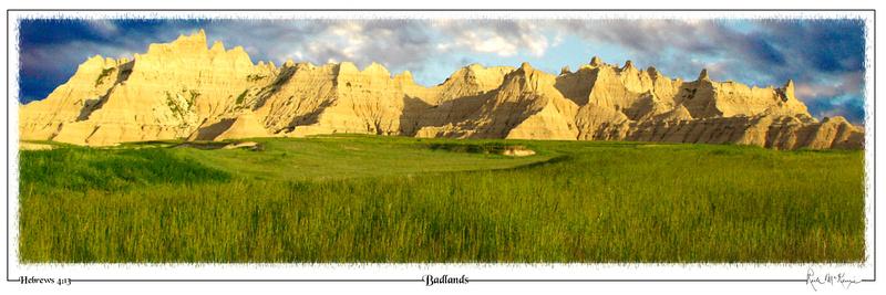 Badlands-Badlands Natl Pk, SD