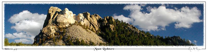 Mount Rushmore- Natl Monument, SD