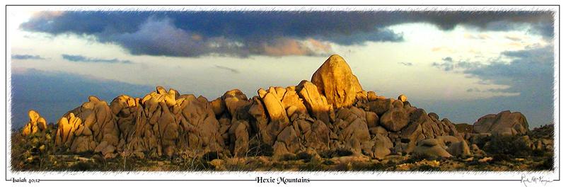 Hexie Mountains-Joshua Tree Natl Pk, CA