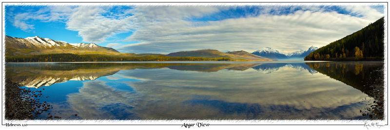 Apgar View-Glacier Natl Pk, MT