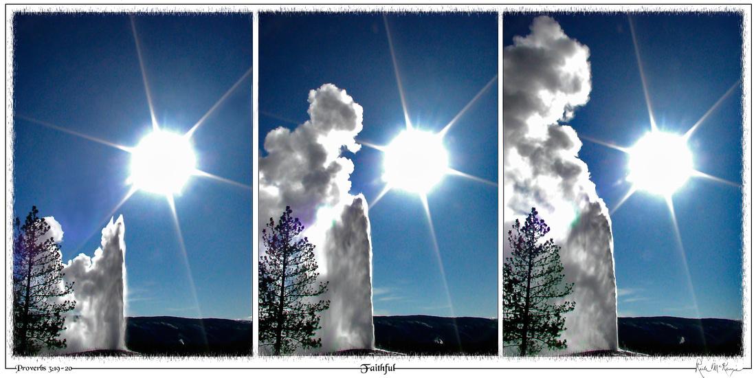 Faithful-Yellowstone National Park, Wy