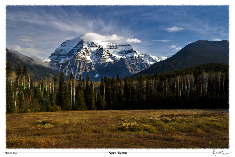 Mount Robson-Mount Robson Provincial Park, BC, CAN