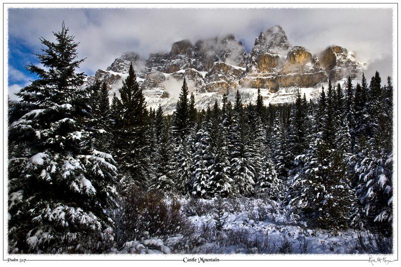 Castle Mountain-Banff National Park, Alberta, Canada