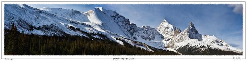 Parker Ridge-Ice Fields-Jasper Natl PK, Alberta, CAN