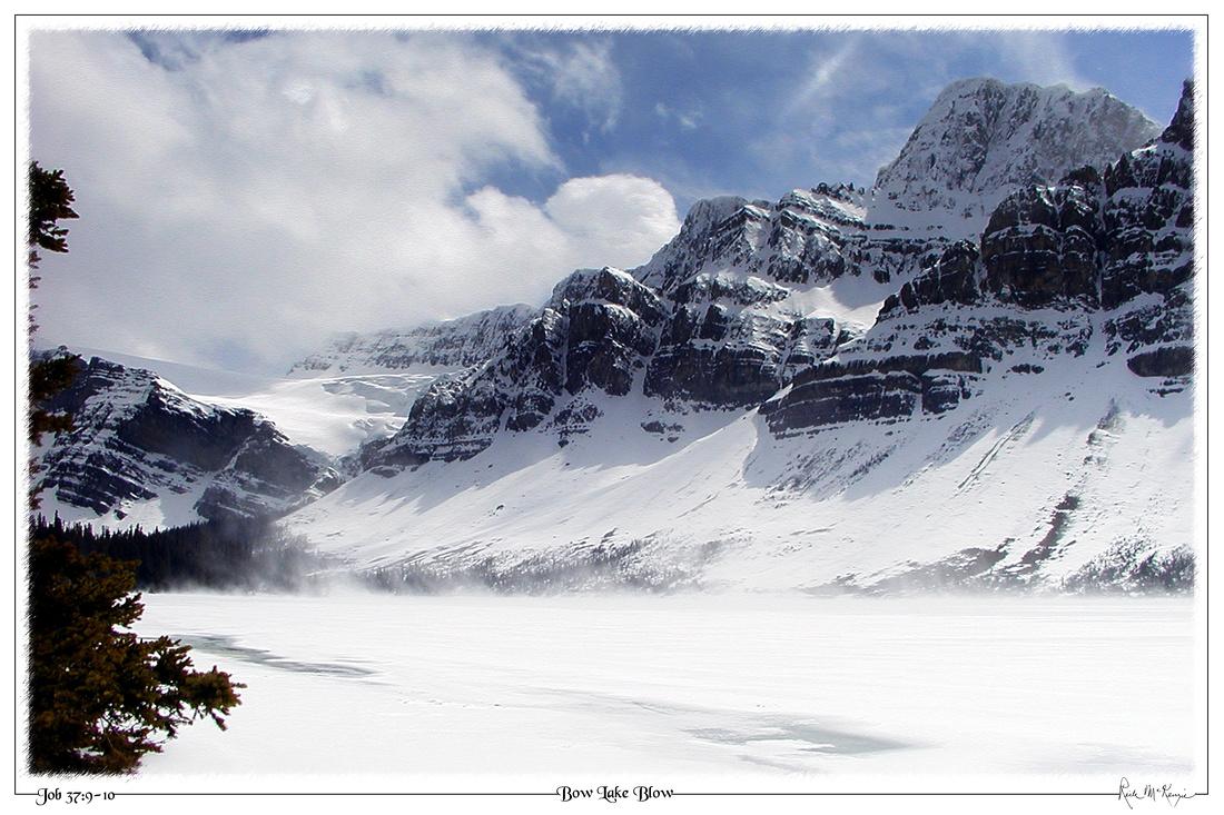 Bow Lake Blow-Banff National Park, Alberta, CAN