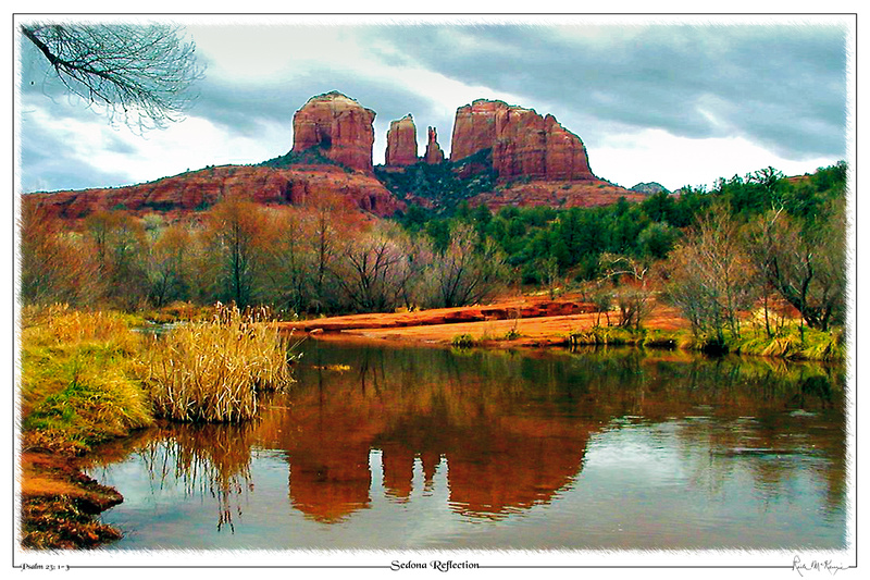 Sedona Reflection-Oak Creek State Pk, AZ