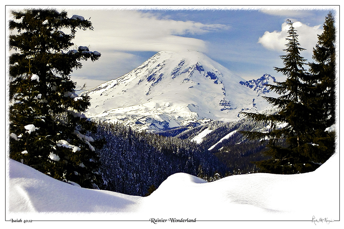 Rainier Wonderland-Mount Rainier Natl Pk, WA